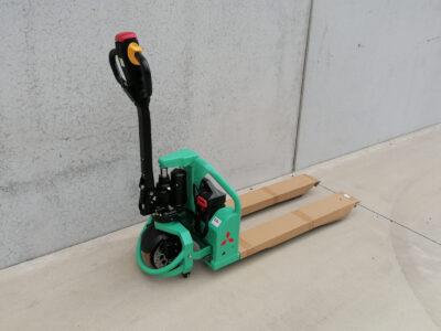 Mitsubishi 1,5Ton elektrische transpallet _ pallettruck - zijkant