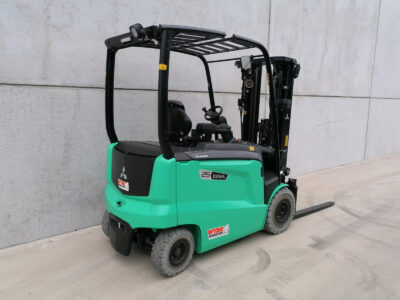 Mitsubishi 2,5 ton nieuwe elektrische heftruck - zijkant