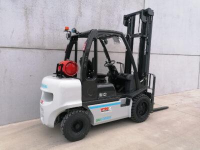 UniCarriers _ Nissan 3Ton nieuwe LPG heftruck - zijkant